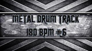 Heavy/Thrash/Power Metal Drum Track 180 BPM (HQ,HD)