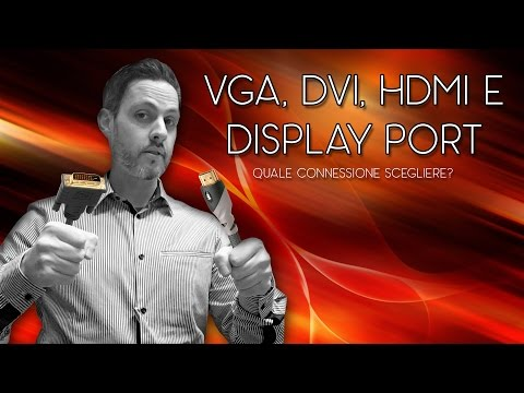 VGA, DVI, HDMI o DISPLAY PORT?
