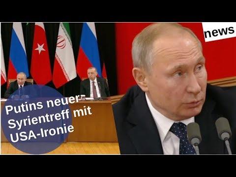 Putins neues Syrientreffen mit USA-Ironie [Video]