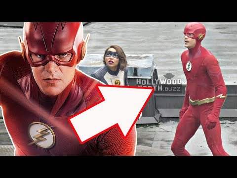 The Flash 5x01 Promo - Barry and Nora Allen Photo Breakdown