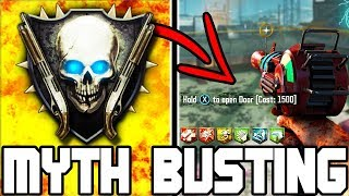SECRET DOOR OUTSIDE ZOMBIES MAP FOUND!!! (No One Knows Where It Goes!) // MYTH BUSTING MONDAYS #62