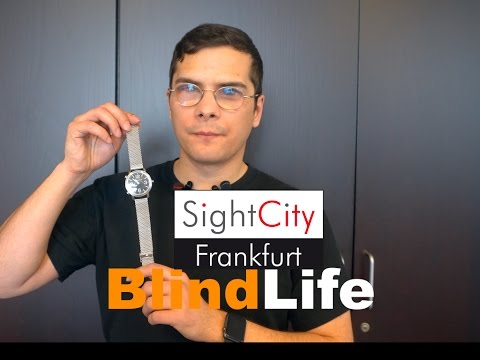 Hands-on: NEU! ACUSTICA - Swiss Made - elegante, sprechende Armbanduhr - SightCity 2017 - BlindLife