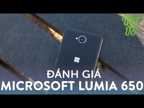 Hình ảnh Video - Nga Ngố - đánh giá chi tiết Lumia 650: thiết kế đẹp, camera tốt