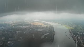 Mayday Mayday High Altitude FPV Flight caught in Big Rain