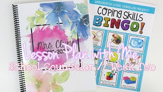 Lesson Plan With Me // School Counselor // Social-Emotional Curriculum Week Two
