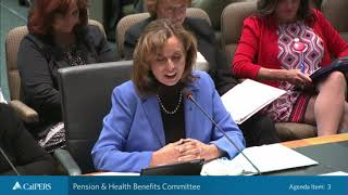 Pension & Health Benefits Committee on May 14, 2019