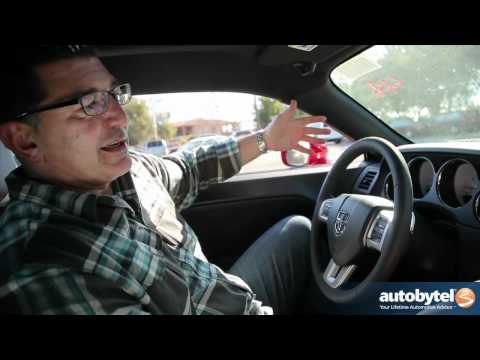 2012 Dodge Challenger: Video Road Test and Review