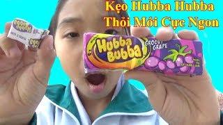 Ăn Thử Kẹo Hubba Bubba Thỏi Mới Cực Ngon❤ Baby channel❤
