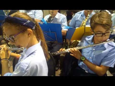 LA BANDA MUSICALE DI ALASSIO SI ESIBISCE IN COMUNE