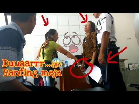 Adu Mulut Nasabah dengan Pegawai Bank BRI..Siapa kah yang salah?...
