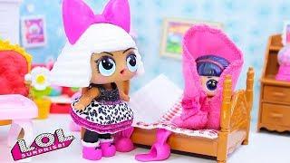 Куклы ЛОЛ Сюрприз   СБОРНИК #11 Смешные Мультики! Игрушки LOL Surprise Dolls Видео для детей