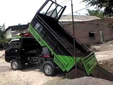 Video Modifikasi mobil L300 menjadi Dump