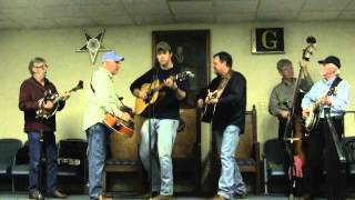 """I'll Never Shed Another Tear"" by One Step Ahead Bluegrass Band at Hephzibah Opry"