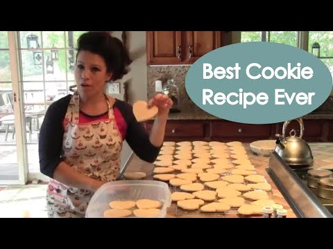 Cut Out Sugar Cookies Recipe (best tasting) – Renee Romeo