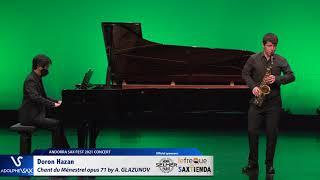 Doron Hazan plays Chant du Ménestrel opus 71 by Alexander GLAZUNOV
