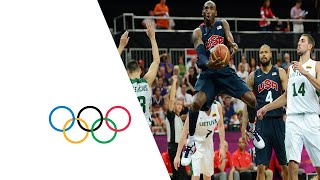 Men's Basketball Preliminary Round - USA v LTU | London 2012 Olympics