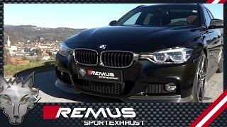 Video: Remus Komplettanlage ab Kat für BMW F30 340i