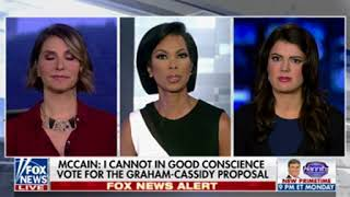 """""""Objective"""" Fox host obviously peeved that McCain won"""