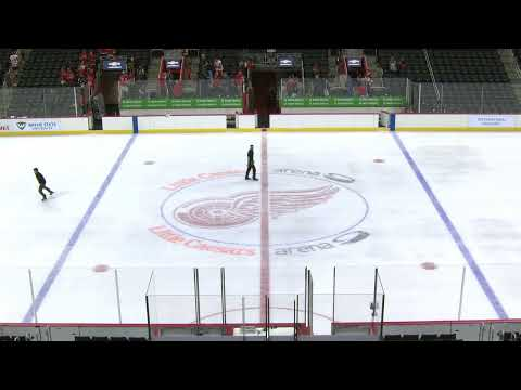 Detroit Red Wings Development Camp | Howe vs. Lindsay Scrimmage