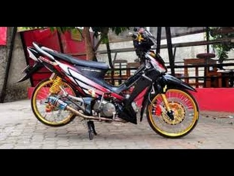 Video Modifikasi Motor Supra X 125 cc Simpel | Bahan Modifikasi