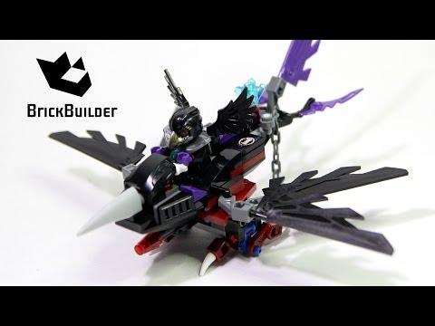 Vidéo LEGO Chima 70000 : Le Corbeau planeur de Razcal