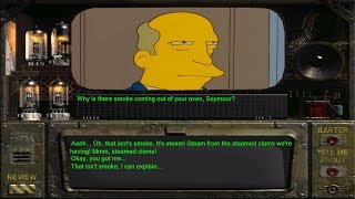 Steamed Hams but it's classic Fallout