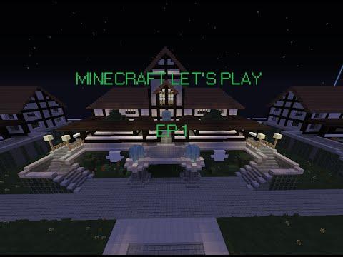 Minecraft DragonTech: letsplay. Ep 1