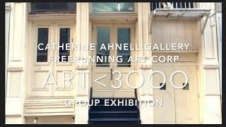 If You are Not able to make it to the Exhibition art<3OOO you can take a look at the video: