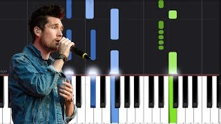 """Bastille   """"Quarter Past Midnight"""" Piano Tutorial   Chords   How To Play   Cover"""
