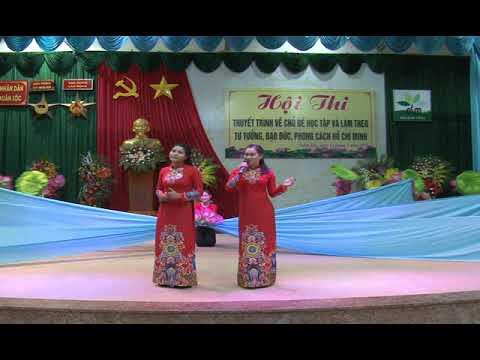 Bác Hồ một tình yêu bao la - cô Huỳnh Thị Thúy và đội múa minh họa - MN Xuân Hưng