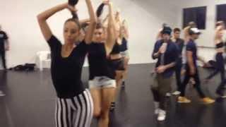 "THE VOICE Australia (rehearsal) - The Wanted ""Walks Like Rihanna"" - HD"