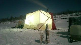 Палатка зимняя снегирь 4т long утепленная