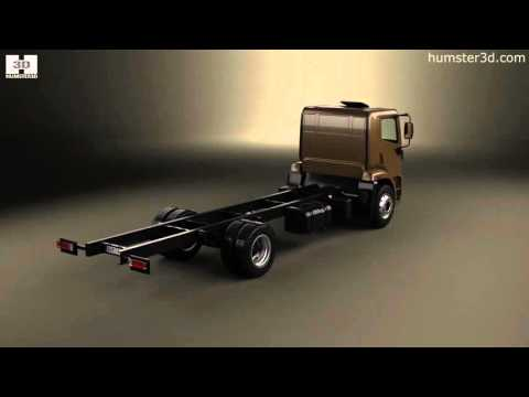 Agrale 14000 Chassis Truck 2012 3D model by Humster3D.com