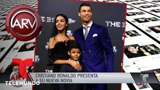 Cristiano Ronaldo Presenta A Su Nueva Novia  Al Rojo Vivo  Telemundo
