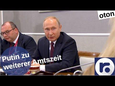 Putin zu weiterer Amtszeit auf deutsch [Video]