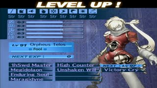 Persona 3 FES -Journey-100% HARD Mode-Part 129-Fusing Orpheus Telos Master Of Strings
