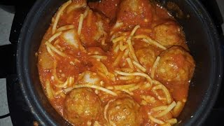 Easy Spaghetti and Meatballs Cook's Essentials Digital Perfect Cooker