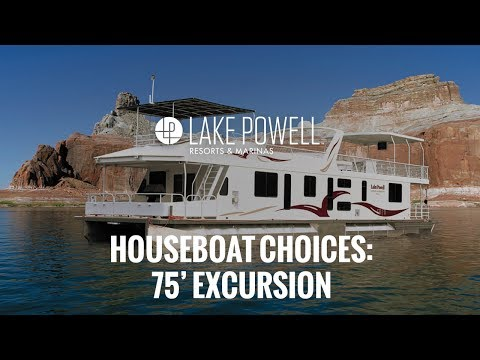 Luxury Class 75' Excursion Houseboat Video