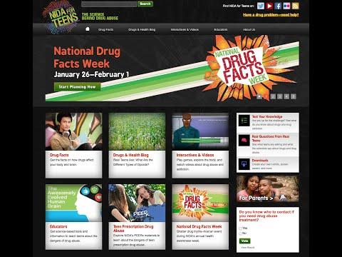 2015 National Drug Facts Week Promo