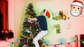 HOW TO MAKE THE PERFECT CHRISTMAS TREE! *GONE RIGHT*