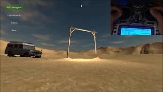 Free Rider FPV Simulator Setup (Frsky Taranis X9D Plus)