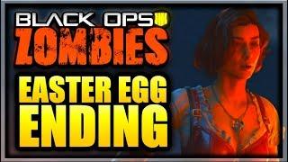 Dead of the Night Easter Egg ENDING Cutscene (Black Ops 4 Zombies Dead of the Night Ending Cutscene)