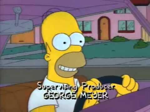 The Simpsons- Homer- Flintstones Imitation