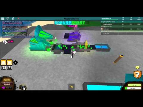 Roblox miners haven QD-DD Setup (new reborn item-Lightingbolt refiner)