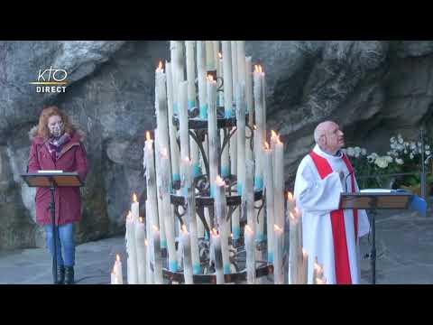 Chapelet du 30 novembre 2020 à Lourdes
