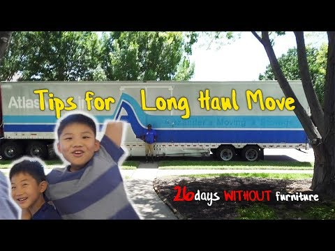 Tips we learned from low budget moving | 미국 장거리 이사 팁 | FL-TX