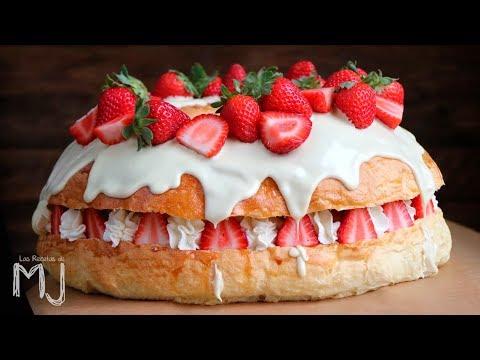 ROSCÓN DE REYES ¡MÁS RICO QUE NUNCA! | Con chocolate blanco y fresas