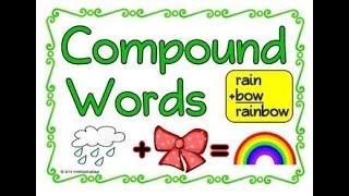 Compound Words For Kids  English Grammar