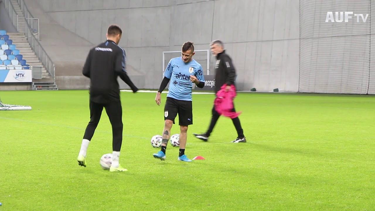 Entrenamiento vespertino en MTK Budapest FC Stadium - 13/11/19