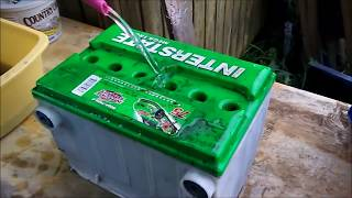 A trick to rejuvenate a car battery